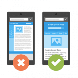 Google starts to penalise non mobile friendly websites